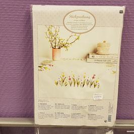 Kit nappe tulipes - Le Dé en Argent