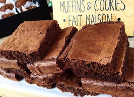 Lot de 8 Brownies Classiques - LO VI Kafetegia