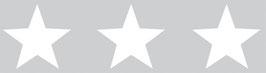 Kinderbordüre | Große Sterne - grau