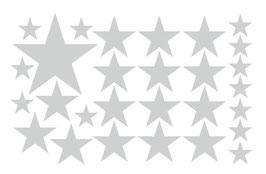 Wandaufkleber | Sternen - Set 1
