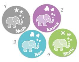 Baby Aufkleber | Kleiner Elefant