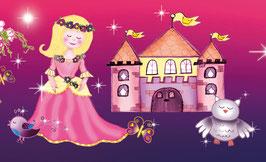 Kinderbordüre | Märchen Prinzessin