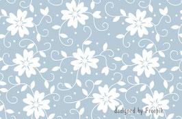 ECO - Vliesbordüre   Blumen - Ornamente