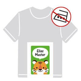 Kleidungsaufkleber | Kleiner Tiger