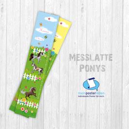 Messlatte | Ponys