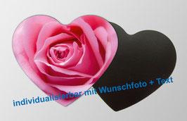 Magnetfotos - Herz    Rose