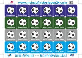 Schuhaufkleber | Fußball