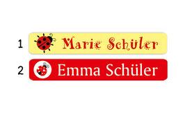 Stifteaufkleber | Marienkäfer