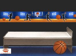 Vliesbordüre | Basketball