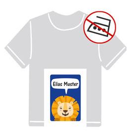 Kleidungsaufkleber | Kleiner Löwe