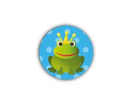 Aufkleber Mini Dots | Frosch blau