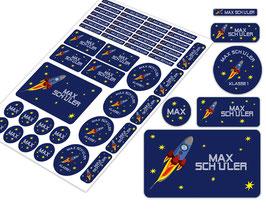 Schulstarter - Set | Rakete