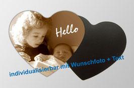 Magnetfotos - Herz |  mit eigenem Kinderfoto personalisierbar