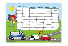 A4 Stundenplan | Polizei