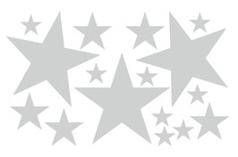 Wandaufkleber | Sterne - Set 2