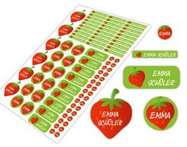 Schulstarter - Set | Erdbeere