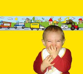 Kinderbordüre | Autos