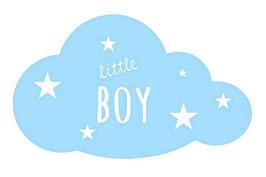 Wandaufkleber | Wolke - Little Boy