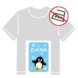 Kleidungsaufkleber | Pinguin