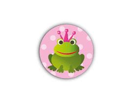 Aufkleber Mini Dots | Frosch rosa