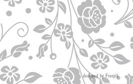 ECO - Vliesbordüre | Rosen - Ornamente