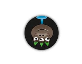 Aufkleber Mini Dots | Monster 1