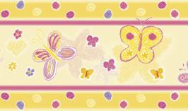 Vliesbordüre | Schmetterlinge