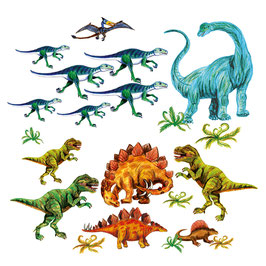 Wandaufkleber-Set | Urzeit Dinos 1