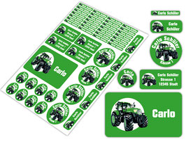 Schulstarter - Set | Traktor - grün