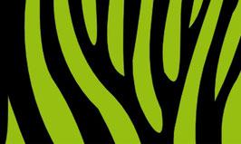 Vliesbordüre | Zebra Streifen - schwarz / farbig