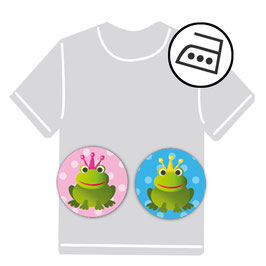 Mini Bügeletiketten | Frosch