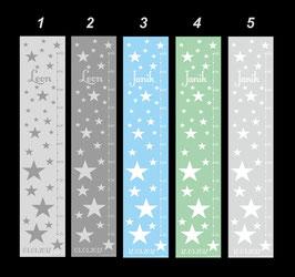 Messlatte | Sterne - pastell