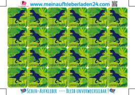 Schuhaufkleber | T-Rex Urwald