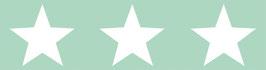 selbstklebende Kinderbordüre | Große Sterne - pastell