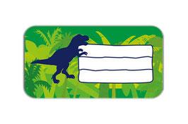 Heftaufkleber 4,4 x 8,4 cm | T-Rex