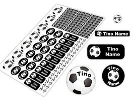 Schulstarter - Set | Fußball - schwarz