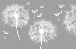 selbstklebende Vliesbordüre | Pusteblume