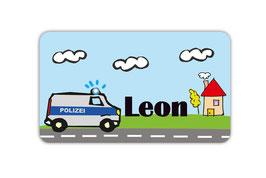 Brotdosenaufkleber | Polizei