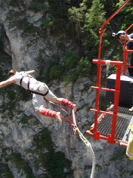 Bungee Jump Pont De Niouc