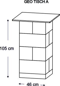 GEO Tisch A, B, C, D, E