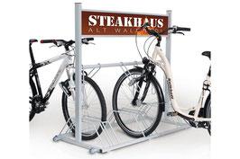 Werbe-Fahrradständer SECURITY STATION