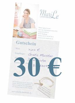 30 €-Gutschein