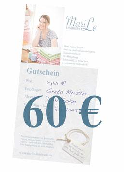 60 €-Gutschein