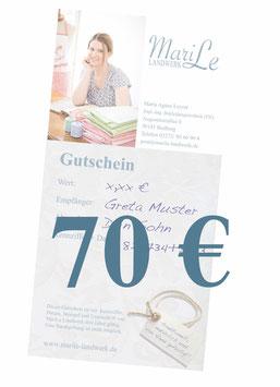 70 €-Gutschein