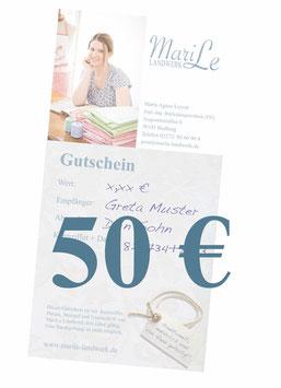 50 €-Gutschein