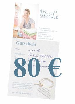 80 €-Gutschein