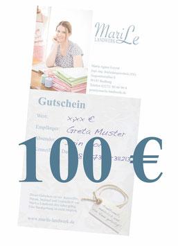 100 €-Gutschein