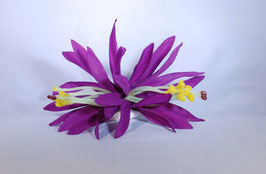 12 cm Spider-Lily-Haarclip lila