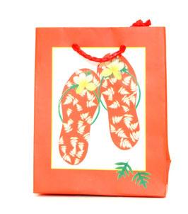 Geschenktasche Red Slippers klein