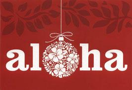 Weihnachtskarte aloha (1950)